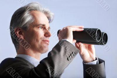 businessman of vision