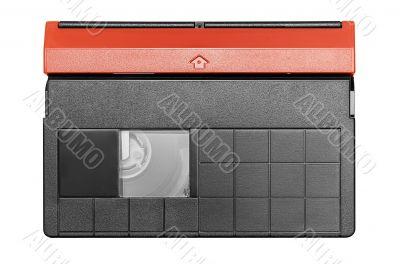 Mini DV Cassette w/ Path - Top View