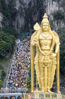 Thaipusam Hindu Festival