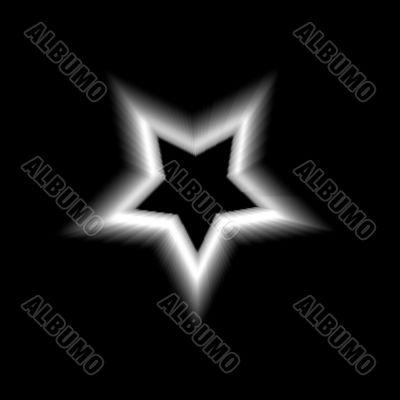 Blurred Star