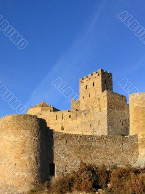 Loarre Castle in the morning light