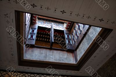 Loft of Chinese house