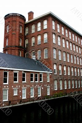 Lowell, Massachusetts textile mill building