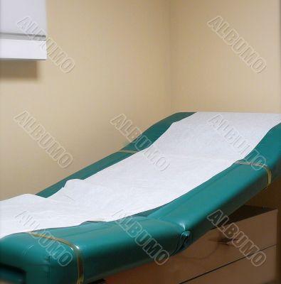 Examination Table in Hospital