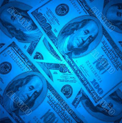 XXL size dollar background