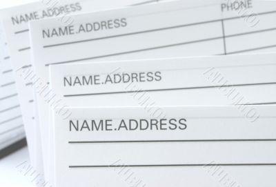 Address & Phone Book