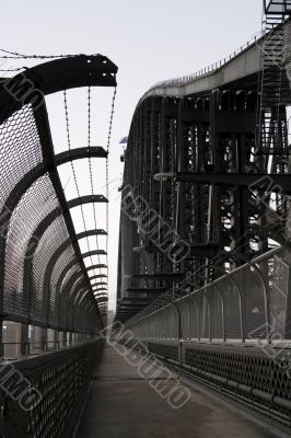 Sydney Harbor Bridge Walkway