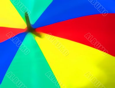soft abstract of colourful umbrella