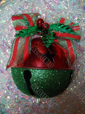 ornament in confetti