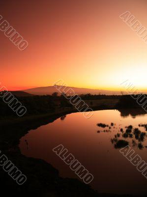 Mount Kenya sunrise