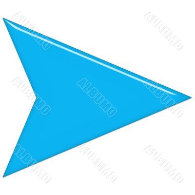 Azure Glass Arrow