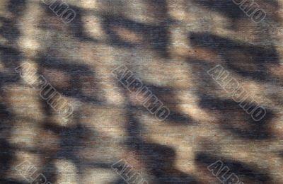 Abstract shadows on a brick wall