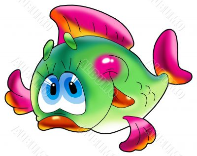 Cheerful fish.