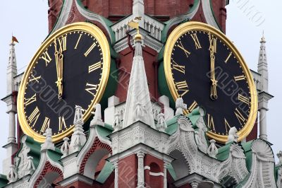 The master clocks of the country
