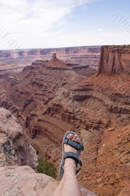 Hike at the canyonlands