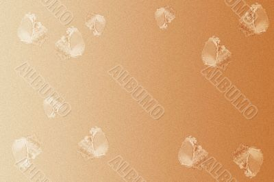 abstract background with seashell