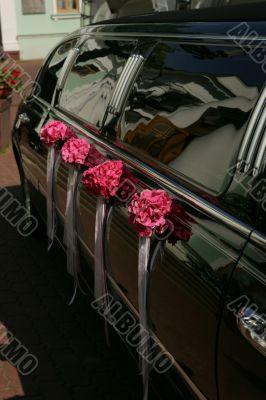 Black Wedding Limousine