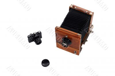 Photo cameras and cover