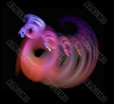 Celestial butterfly worm