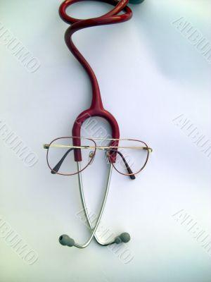 stethoscope symbolyzing a cute doctor