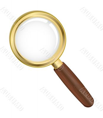 Vector illustration of a search icon
