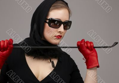 lady in red gloves with crop 2