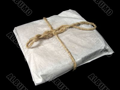 gift wrapping made of ecologically clean products