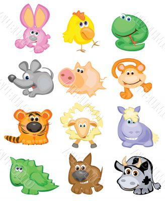 Horoscope, cute animals