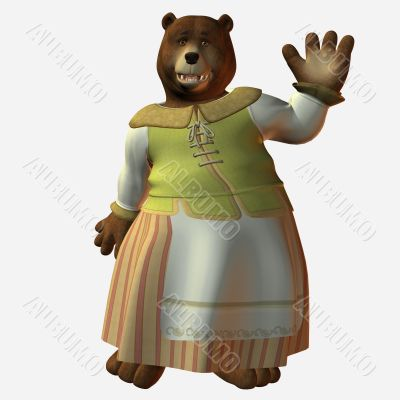 Toon Bear
