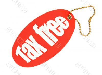 tax free price tag