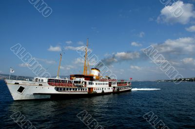 Boat trip and open blue sky