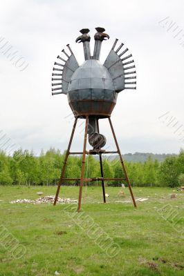 Nikola-lenivec. A heat is a bird