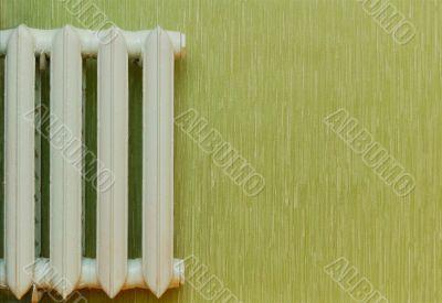 Old-fashioned heat radiator