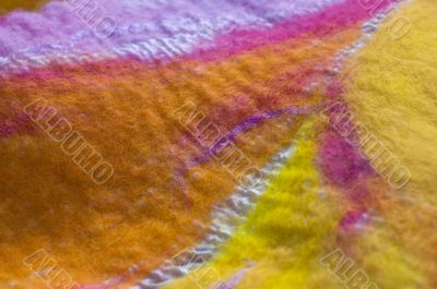 felt textile design