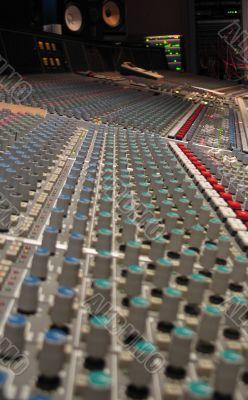 music recording board