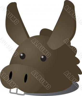 Donkey cartoon