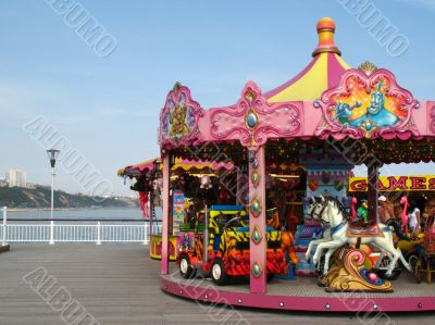 Children`s Fairground ride