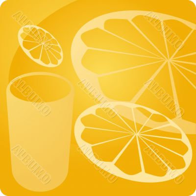 Orange juice beverage panel
