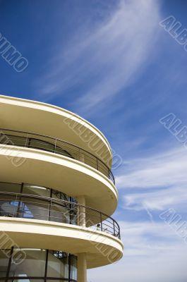 Art-deco balcony
