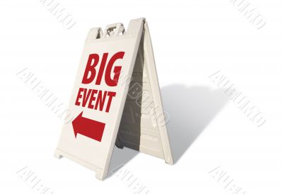 Big Event Tent Sign
