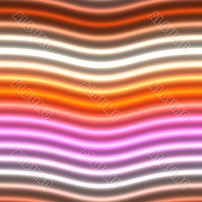Glowing neon lines