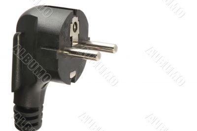 Power Cord Plug macro
