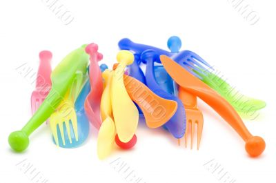 Plastic kitchen utensil