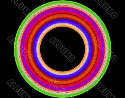 Iridescent ring