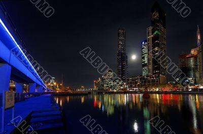 Moonlight in Melbourne
