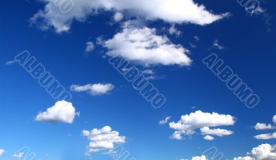panoramic view of summer sky