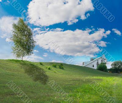 Solar to a lawn