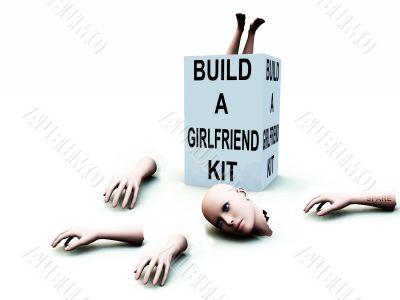 Build A Girlfriend kit