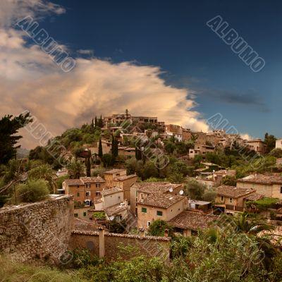 Mystic spirit at the hill of Deia, Majorca, Spain
