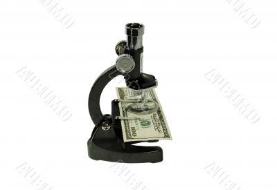 Close look at money